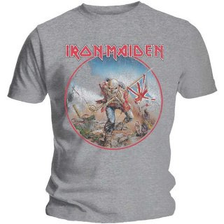 IRON MAIDEN Trooper Vintage Circle, Tシャツ