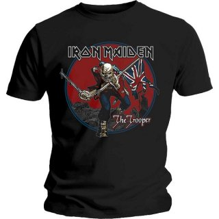 IRON MAIDEN Trooper Red Sky, Tシャツ