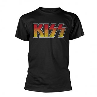KISS Colour Gradient Logo, Tシャツ