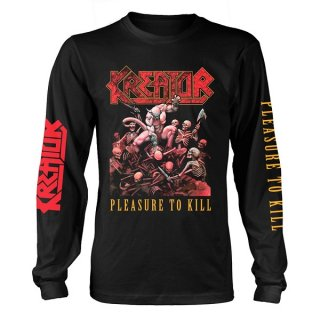 KREATOR Pleasure To Kill, ロングTシャツ