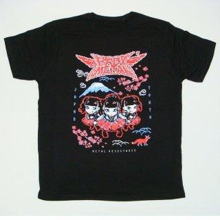 BABYMETAL Pixel Tokyo, Tシャツ
