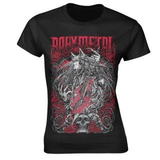 BABYMETAL Rosewolf, レディースTシャツ