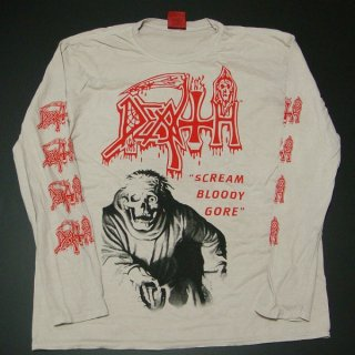 DEATH Scream Bloody Gore, ロングTシャツ