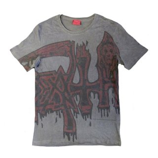 DEATH Large Logo Red, Tシャツ