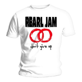PEARL JAM Don't Give Up White, Tシャツ