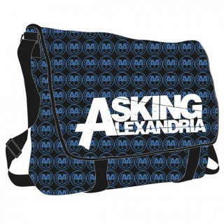 ASKING ALEXANDRIA All Over, メッセンジャーバッグ<img class='new_mark_img2' src='//img.shop-pro.jp/img/new/icons5.gif' style='border:none;display:inline;margin:0px;padding:0px;width:auto;' />