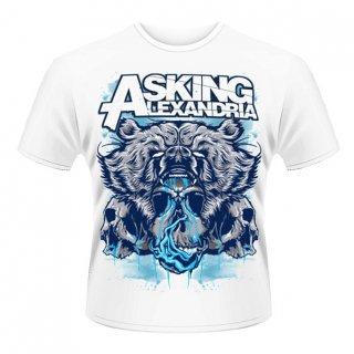 ASKING ALEXANDRIA Bear Skull, Tシャツ
