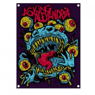 ASKING ALEXANDRIA Eyeballs, 布製ポスター