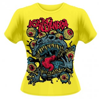 ASKING ALEXANDRIA Eyeballs, レディースTシャツ<img class='new_mark_img2' src='//img.shop-pro.jp/img/new/icons5.gif' style='border:none;display:inline;margin:0px;padding:0px;width:auto;' />