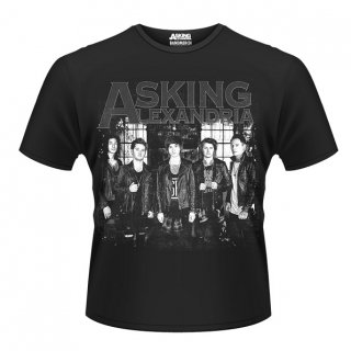 ASKING ALEXANDRIA Group, Tシャツ<img class='new_mark_img2' src='//img.shop-pro.jp/img/new/icons5.gif' style='border:none;display:inline;margin:0px;padding:0px;width:auto;' />