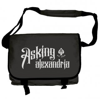 ASKING ALEXANDRIA I Won't Give In, メッセンジャーバッグ<img class='new_mark_img2' src='//img.shop-pro.jp/img/new/icons5.gif' style='border:none;display:inline;margin:0px;padding:0px;width:auto;' />