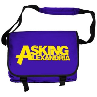 ASKING ALEXANDRIA Logo, メッセンジャーバッグ<img class='new_mark_img2' src='//img.shop-pro.jp/img/new/icons5.gif' style='border:none;display:inline;margin:0px;padding:0px;width:auto;' />