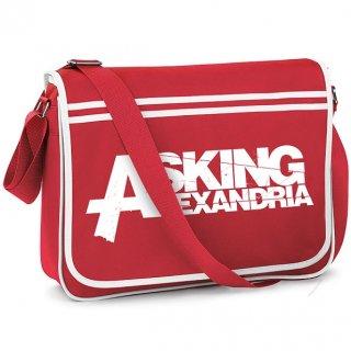 ASKING ALEXANDRIA Logo 2, メッセンジャーバッグ