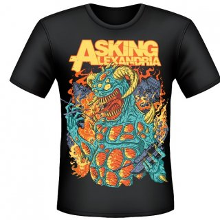 ASKING ALEXANDRIA Monster, Tシャツ<img class='new_mark_img2' src='//img.shop-pro.jp/img/new/icons5.gif' style='border:none;display:inline;margin:0px;padding:0px;width:auto;' />