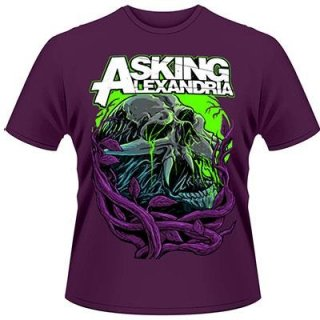 ASKING ALEXANDRIA Night Slime, Tシャツ