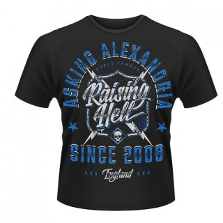 ASKING ALEXANDRIA Raising Hell, Tシャツ<img class='new_mark_img2' src='//img.shop-pro.jp/img/new/icons5.gif' style='border:none;display:inline;margin:0px;padding:0px;width:auto;' />