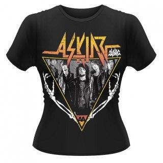 ASKING ALEXANDRIA Skeleton Arms, レディースTシャツ