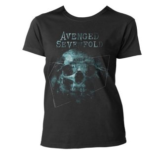 AVENGED SEVENFOLD Galaxy, レディースTシャツ<img class='new_mark_img2' src='//img.shop-pro.jp/img/new/icons5.gif' style='border:none;display:inline;margin:0px;padding:0px;width:auto;' />