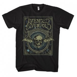 AVENGED SEVENFOLD Ornate Death Bat, Tシャツ<img class='new_mark_img2' src='//img.shop-pro.jp/img/new/icons5.gif' style='border:none;display:inline;margin:0px;padding:0px;width:auto;' />