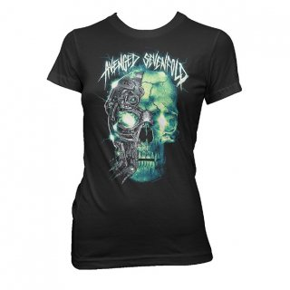 AVENGED SEVENFOLD Turbo Skull, レディースTシャツ<img class='new_mark_img2' src='//img.shop-pro.jp/img/new/icons5.gif' style='border:none;display:inline;margin:0px;padding:0px;width:auto;' />