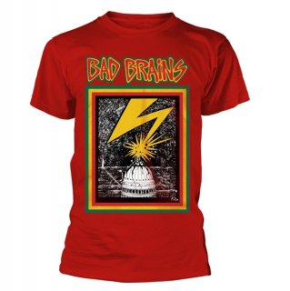 BAD BRAINS Bad Brains (red), Tシャツ<img class='new_mark_img2' src='//img.shop-pro.jp/img/new/icons5.gif' style='border:none;display:inline;margin:0px;padding:0px;width:auto;' />