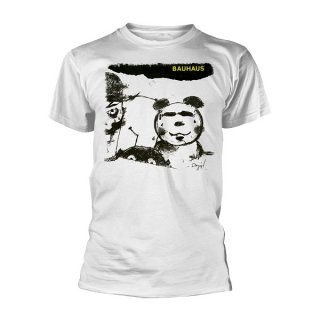 BAUHAUS Mask (white), Tシャツ
