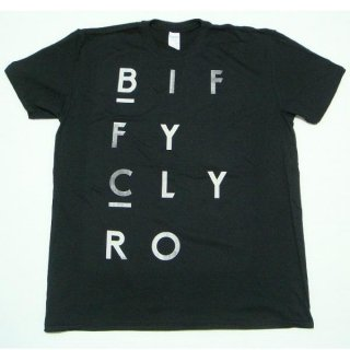 BIFFY CLYRO Blocks Logo, Tシャツ