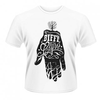 BIFFY CLYRO White Hand, Tシャツ