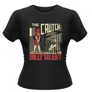BILLY TALENT The Crutch, レディースTシャツ<img class='new_mark_img2' src='//img.shop-pro.jp/img/new/icons5.gif' style='border:none;display:inline;margin:0px;padding:0px;width:auto;' />