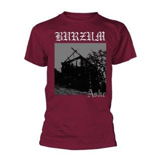 BURZUM Aske (maroon), Tシャツ