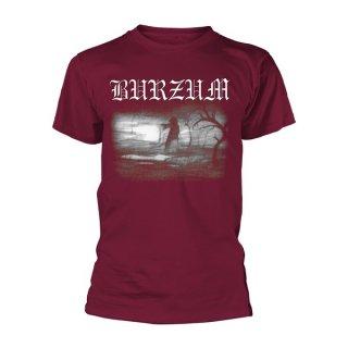 BURZUM Aske 2013 (maroon), Tシャツ