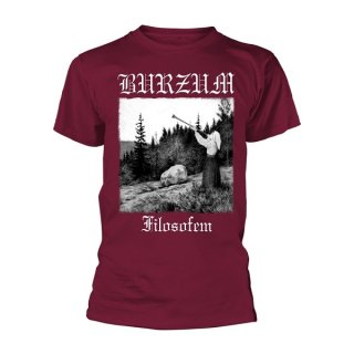 BURZUM Filosofem 2018 (maroon), Tシャツ<img class='new_mark_img2' src='//img.shop-pro.jp/img/new/icons5.gif' style='border:none;display:inline;margin:0px;padding:0px;width:auto;' />
