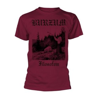 BURZUM Filosofem 3 (maroon), Tシャツ<img class='new_mark_img2' src='//img.shop-pro.jp/img/new/icons5.gif' style='border:none;display:inline;margin:0px;padding:0px;width:auto;' />