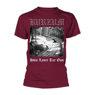 BURZUM Hvis Lyset Tar Oss (maroon), Tシャツ<img class='new_mark_img2' src='//img.shop-pro.jp/img/new/icons5.gif' style='border:none;display:inline;margin:0px;padding:0px;width:auto;' />