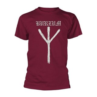 BURZUM Rune (maroon), Tシャツ<img class='new_mark_img2' src='//img.shop-pro.jp/img/new/icons5.gif' style='border:none;display:inline;margin:0px;padding:0px;width:auto;' />