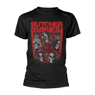 BUTCHER BABIES Starskull, Tシャツ<img class='new_mark_img2' src='//img.shop-pro.jp/img/new/icons5.gif' style='border:none;display:inline;margin:0px;padding:0px;width:auto;' />