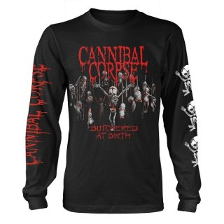 CANNIBAL CORPSE Butchered At Birth Baby, ロングTシャツ