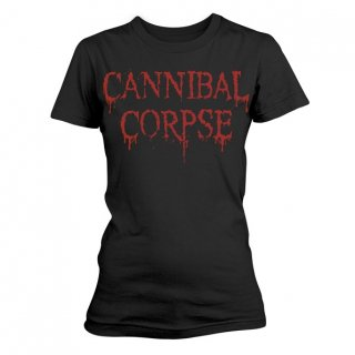 CANNIBAL CORPSE Dripping Logo, レディースTシャツ<img class='new_mark_img2' src='//img.shop-pro.jp/img/new/icons5.gif' style='border:none;display:inline;margin:0px;padding:0px;width:auto;' />