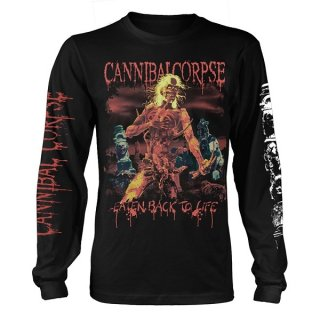 CANNIBAL CORPSE Eaten Back To Life, ロングTシャツ