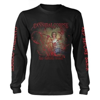 CANNIBAL CORPSE Red Before Black, ロングTシャツ