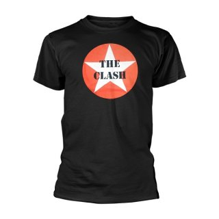 THE CLASH Star Badge, Tシャツ