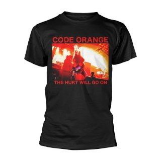CODE ORANGE Red Hurt Photo, Tシャツ<img class='new_mark_img2' src='//img.shop-pro.jp/img/new/icons5.gif' style='border:none;display:inline;margin:0px;padding:0px;width:auto;' />