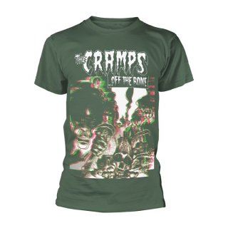 THE CRAMPS Off The Bone (green), Tシャツ