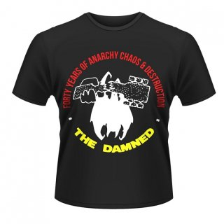 THE DAMNED Forty Years Of Anarchy, Tシャツ<img class='new_mark_img2' src='//img.shop-pro.jp/img/new/icons5.gif' style='border:none;display:inline;margin:0px;padding:0px;width:auto;' />