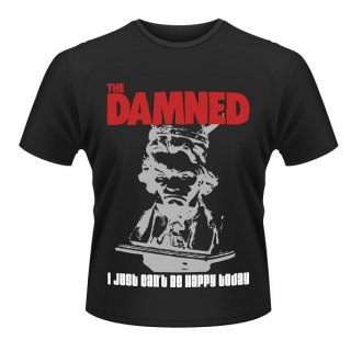 THE DAMNED I Just Can't Be Happy Today, Tシャツ<img class='new_mark_img2' src='//img.shop-pro.jp/img/new/icons5.gif' style='border:none;display:inline;margin:0px;padding:0px;width:auto;' />