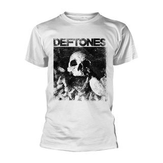 DEFTONES Skull (white), Tシャツ<img class='new_mark_img2' src='//img.shop-pro.jp/img/new/icons5.gif' style='border:none;display:inline;margin:0px;padding:0px;width:auto;' />