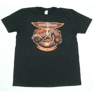 THE DOOBIE BROTHERS Motorcycle Tour '87, Tシャツ<img class='new_mark_img2' src='//img.shop-pro.jp/img/new/icons5.gif' style='border:none;display:inline;margin:0px;padding:0px;width:auto;' />