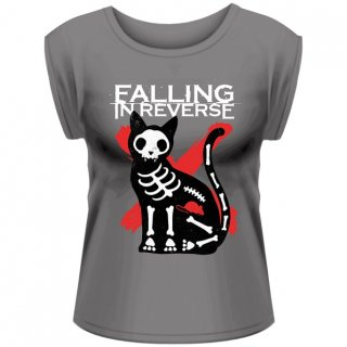 FALLING IN REVERSE Cat & Mouse, レディースTシャツ