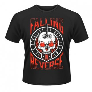 FALLING IN REVERSE Straight To Hell, Tシャツ<img class='new_mark_img2' src='//img.shop-pro.jp/img/new/icons5.gif' style='border:none;display:inline;margin:0px;padding:0px;width:auto;' />