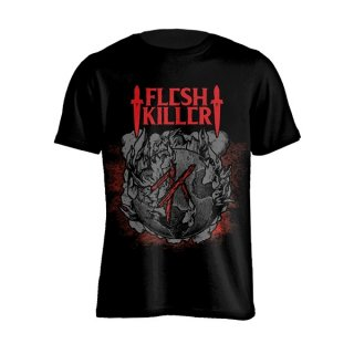 FLESHKILLER Red Logo, Tシャツ<img class='new_mark_img2' src='//img.shop-pro.jp/img/new/icons5.gif' style='border:none;display:inline;margin:0px;padding:0px;width:auto;' />